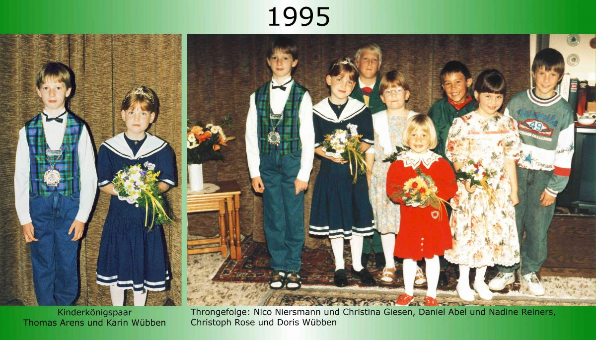 1995 Kinderkoenig Thomas Arens
