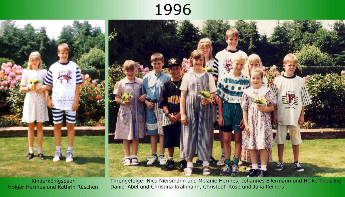 1996 Kinderkoenig Holger Hermes