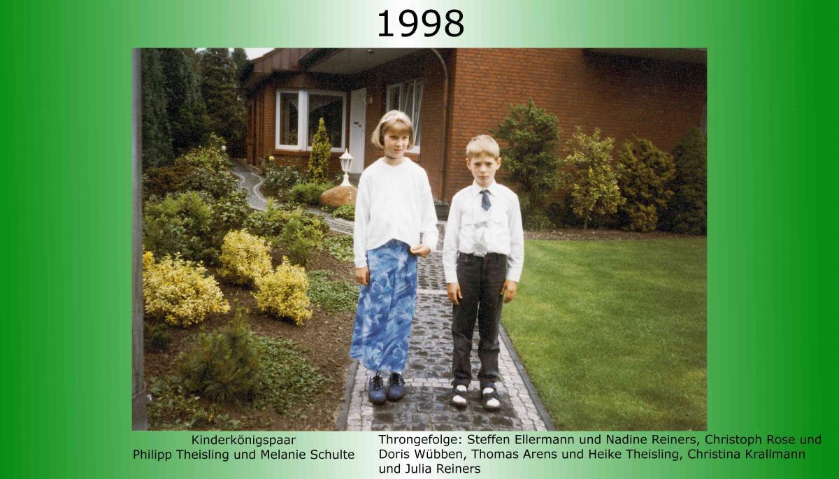 1998 Kinderkoenig Philipp Theisling