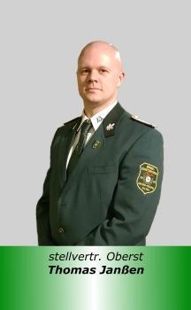 16 stellvertr Oberst T Janssen
