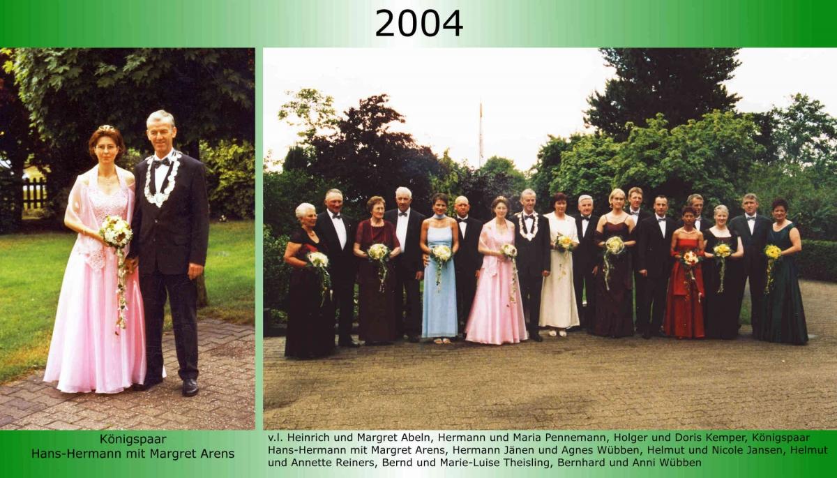 2004 Koenigspaar Thron H H Arens 1